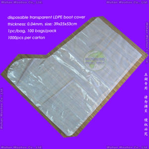Disposable Polyethylene Boot Cover pictures & photos