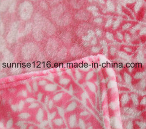 Super Soft Printed Flannel Blanket Sr-B170213-18 Printed Coral Fleece Blanket pictures & photos