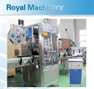 PVC Sleeve Shrink Label Machine pictures & photos