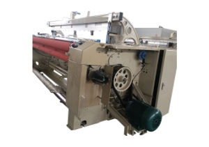 Air Jet Gauze Weaving Machine for Cloth Edge Forming pictures & photos