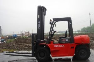 Hecha 5 Ton Diesel of Forklift Truck pictures & photos