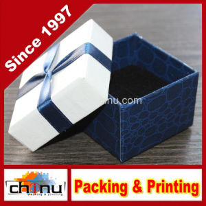Custom Printed Luxury Jewelry Box (140002) pictures & photos