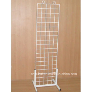 Floor Standing Grid Wire Rack Display for Promotion (PHY3007) pictures & photos