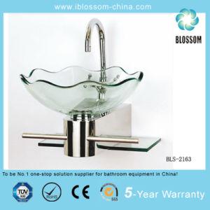 Bathroom Glass Vanity Top (BLS-2163) pictures & photos
