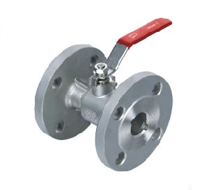 Integral Double Flange Ball Valve with Lever Operator pictures & photos