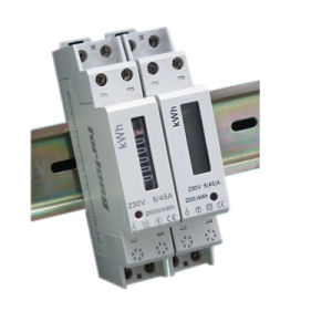 Single Phase 1p Electronic Smart DIN Rail Meter pictures & photos