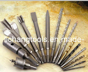 Chisels for Concrete and Brick with SDS Plus Shank and Hexagon Body, Sandblast Surface, Made of 40cr pictures & photos