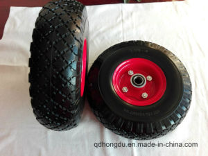 Factory Directly Sale 16 Inch Pneumatic Rubber Wheel pictures & photos