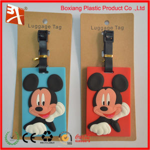 Mickey Mouse Luggage Tag for Couples