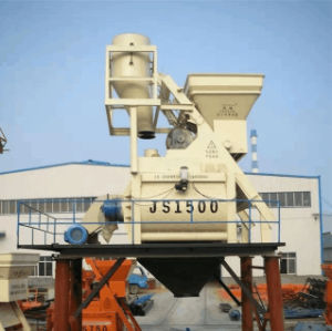 Large Capacity Twin Shaft Concrete Mixer for Hot Sale (Js1500) pictures & photos