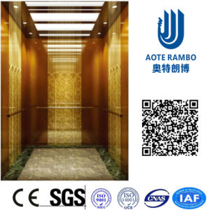 AC Vvvf Gearless Drive Passenger Elevator Without Machine Room (RLS-256) pictures & photos