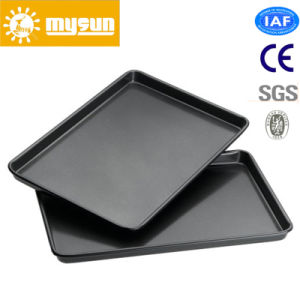 Al Alloy Flat Baking Tray with Coating pictures & photos