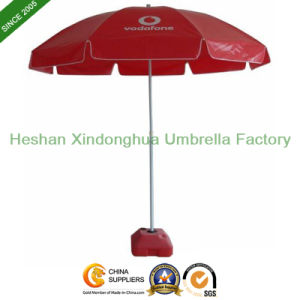 Cheap Customized Beach Umbrellas with Windproof Ribs (BU-0045W) pictures & photos