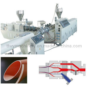 Plastic Pipe Manufacturing Machine for PE Pipe Sale pictures & photos