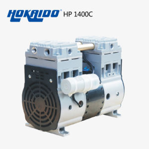for Dental Use Hokaido Oil Free Piston/Mini Air Compressor (HP-1400C) pictures & photos