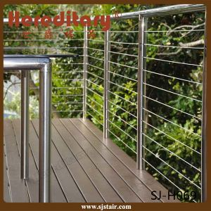 Cheap SUS 304 Stainless Steel Cable Railing for Decking / Terrace / Balcony/Baluster (SJ-S060) pictures & photos