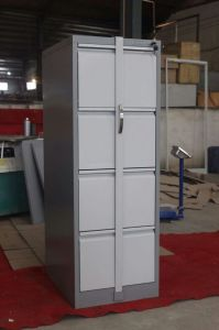 Commercial Office Furniture 4 Drawer Cupboards Metal File Cabinet pictures & photos