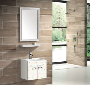 Modern Style Aluminum Bathroom Cabinet (T-9735) pictures & photos