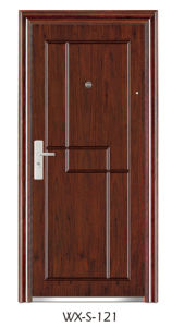 Hot Sale Steel Security Door (WX-S-121) pictures & photos