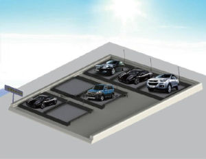 One Floor Horizontal Type Parking System pictures & photos