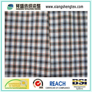 Polyester Cotton Fabric with Plaid pictures & photos
