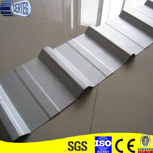 Trapezoid Corrugated Galvalume Steel Roofing Sheet pictures & photos