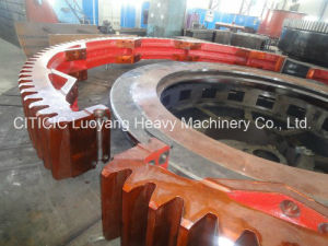 Cast and Forged Ball Mill Large Gear Ring with ISO 9001: 2008 Certificated pictures & photos