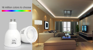 WiFi 5W RGBW/Rgbww LED GU10 Spotlight 5W pictures & photos