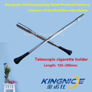 Telescopic Cigarette Holder Party Partner Silver 200mm pictures & photos