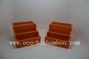 Bamboo Fiber Business Card Box with Eco-Friendly (BC-CB1001) pictures & photos