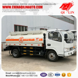 China Cheap Price Stock Oil Gasoline Storage Tank Truck pictures & photos