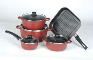 9PCS Aluminum Non-Stick Cookware Set