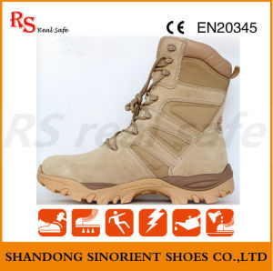Suede Leather Military Boots for Police Man pictures & photos