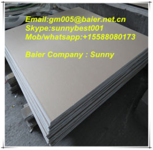 Gypsum Plaster Board for Drywall Chinese Manufacturer Shandong Linyi pictures & photos