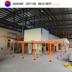 Automatic Powder Coating Line with PT (pre-treatment clean system) System pictures & photos