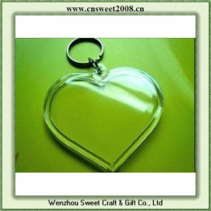 Acrylic Photo Frame Key Chains (S0P041) pictures & photos