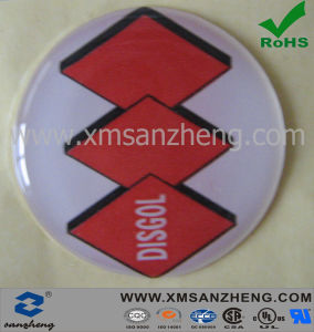 OEM Round Epoxy Resin Logo Stickers pictures & photos