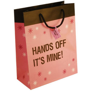 Cosmetic Paper Bags /Promotional Paper Handbags/Handle Gift Carrier Bags