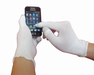Nylon Touch Screen Glove pictures & photos