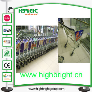 Passenger Luggage Trolley with Hand Brake for International Airport pictures & photos