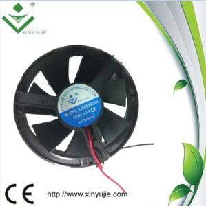 80mm 80X80X25mm Round Frame DC Brushless Cooling Fan 12V 24V 48V Customized pictures & photos