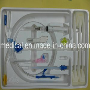Disposable Double Triple Lumen Central Venous Catheter Kits with CE Manufacturer (SC-021) pictures & photos
