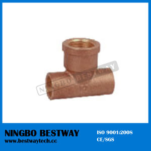 Hot Sale Pump Bronze Tee (BW-656) pictures & photos