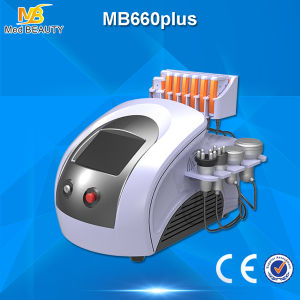 Diode Lipolaser Cavitation Vacuum RF Slimming Beauty Machine (MB660plus) pictures & photos