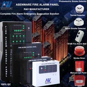 Manufacturer of Fire Alarm Detection Host with Siren pictures & photos