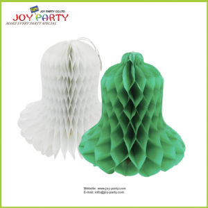 Christmas Bell Paper Honeycomb Ball Decoration pictures & photos