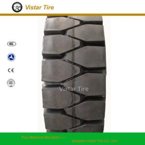 Pneumatic Shaped Solid Tyre (4.00-8, 5.00-8, 21X8-9, 23X10-12, 7.00-12, 7.50-15) pictures & photos