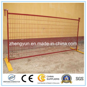 ISO Certificated Canada Standard Temporary Fence /Welded Wire Mesh Fence pictures & photos