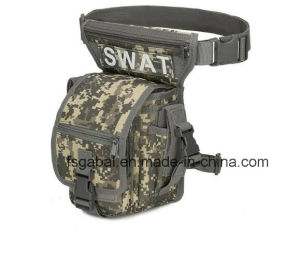 Outdoor Camouflage Military Gear Waterproof Sports Waist Leg Bag for Hunting pictures & photos