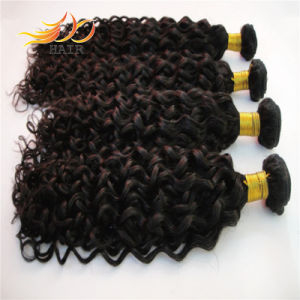 6A Unprocessed Natural Color Mongolian Human Hair Weaving pictures & photos